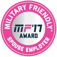 Military Friendly Spouse Employer seal