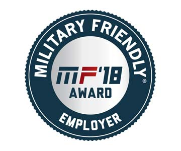 2018 Military Friendly Employer