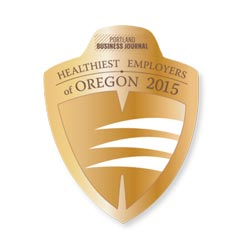 Portland Business Journal Healthiest Employer 2015
