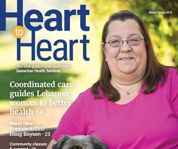 Cover of Heart to Heart Winter/Spring 2018