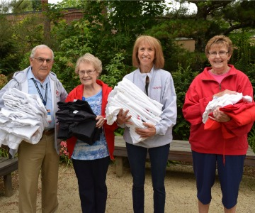 Western Oregon University Donates Clothing for Lebanon Hospital Patients.