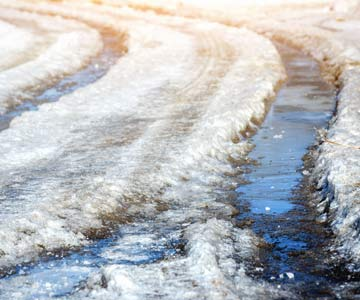 Snow and icy conditions are delaying clinic openings.