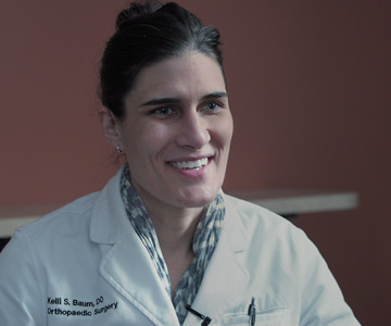 Kelli Baum is an orthopedic surgeon with Samaritan Health Services.