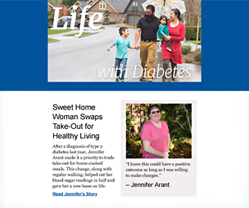 Life with Diabetes newsletter, December 1018.