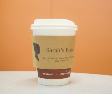 Coffee cup with Sarah