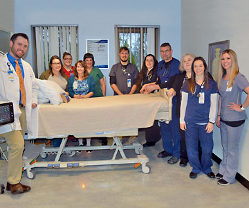 Critical care team in Lebanon wins national award.