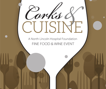 Corks and Cuisine logo art