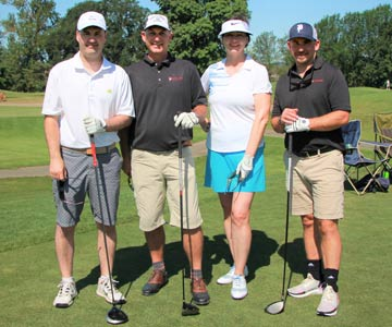 Golfers at this year's 2019 Samaritan Scramble.