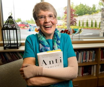 Retired professor of communication embraces her journey with cancer and those she meets along the way