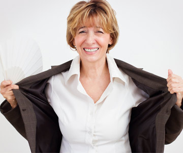 Hot flashes are one of the most common complaints of menopause.