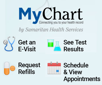 MyChart offers many conveniences to Samaritan patients.