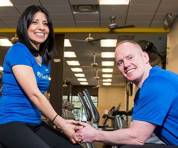 Couple finds love at SamFit.