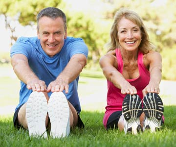 Couple works at staying fit into middle age