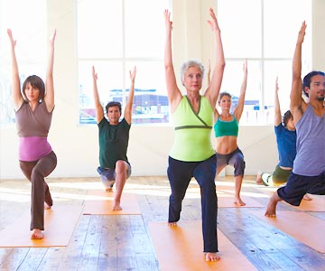 From gentle stretching to serious strength training yoga offers something for everyone.
