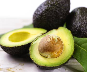 Avocados provide a delicious source of monounsaturated fats.