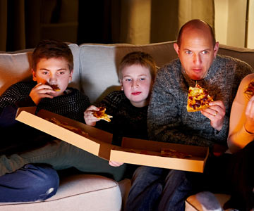 It's easy to binge on unhealthy foods when enjoying the luxury of binge watching!