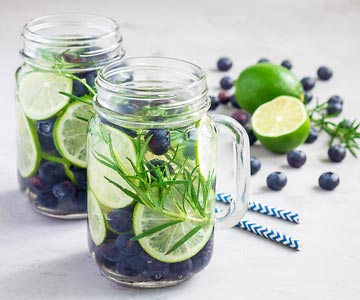 Cool and refreshing, infused water is a wonderful summer drink.