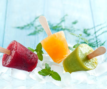 Making home made popsicles is fun, healthy and delicious!