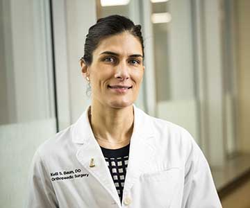 Kelli Baum, DO orthopedic surgeon of Samaritan Medical Group - Albany