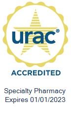 URAC specialty pharmacy logo